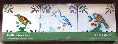 Onderzetters Vogelmotief