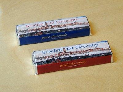 Chocoladereep melk Deventer
