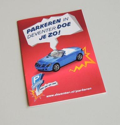 Folder parkeerinformatie