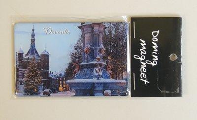 Magneet kerst Deventer