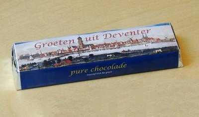 Chocoladereep puur Deventer