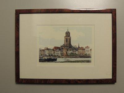 Schilderij groot Deventer