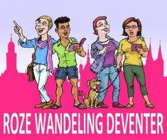 Roze wandeling Deventer