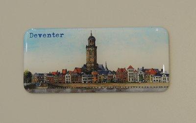 Magneet tekening Deventer IJsselfront