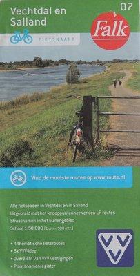 Vechtdal en Salland Fietskaart Falk 07
