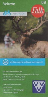 Veluwe Fietskaart Falk 09