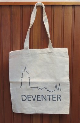 Linnen tas logo Deventer