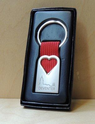 Sleutelhanger Deventer hart