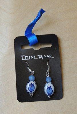 Oorbellen Delfts Blauw