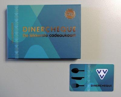 VVV Dinercheque 25 euro