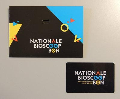 Nationale Bioscoopbon 15 euro