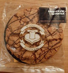 Heerlijke Vondel koek met de Groeten uit Deventer