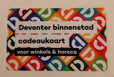 Deventer binnenstad cadeaukaart