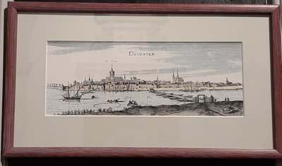 Aanbieding: Schilderijtje Deventer