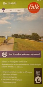 TOPPER: De IJssel Recreatiekaart Falk 01 (Nieuwe uitgave)